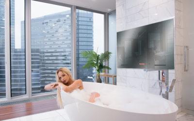 Оформление интерьера в большой ванне, как?